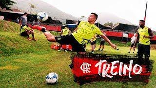 Flamengo faz último treino antes de enfrentar o Madureira