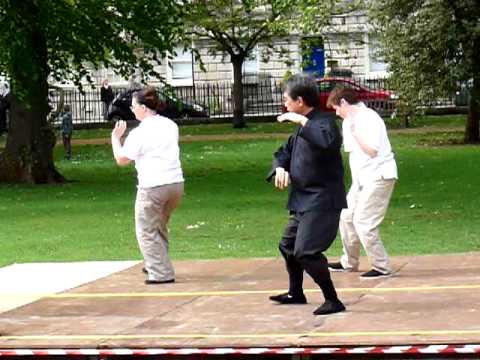 Taichi Demonstration In Queen Square