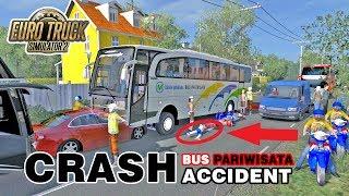 Yang Ga Kuat Jangan Tonton Video Ini !!! Crash Accident Bus Pariwisata MP3
