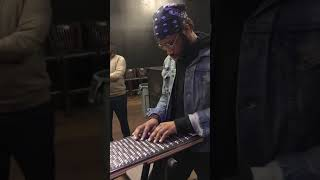 Cory Henry - Love's In Need of Love Today (Stevie Wonder cover on Harpejji)