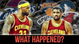 The REAL Reason Why Kyrie Wants To Leave LeBron And The Cavaliers!