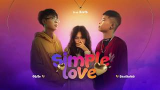 Simple Love | Karaoke (BEAT GỐC) | Tobiee Official