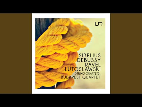 String Quartet In F Major, M. 35: I. Allegro Moderato