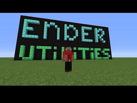 Mod spotlight Ender Utilities part 1 Modded minecraft 1.9.0