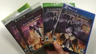 Saints Row IV 4 + Re-Elected + Gat Out of Hell (PS4/Xbox One / PS3 / Xbox 360 ) Unboxing !!