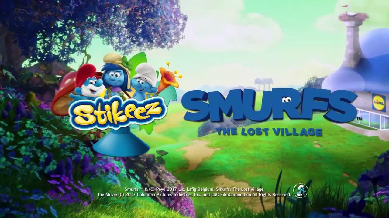 Smurfs CHEF LIDL Stikeez The Lost Village 2017