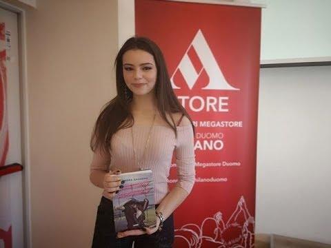 Eleonora Gaggero presenta il libro L'ultimo respiro | Video intervista