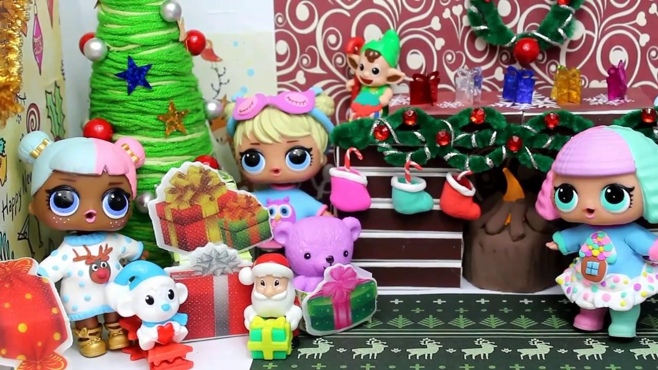 Куклы ЛОЛ. Украшаем домик для кукол LOL Surprise.diy - YouTube