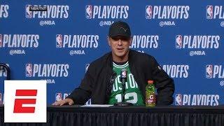[FULL] Drew Bledsoe 'fired up' watching Boston Celtics win Game 5 vs. Philadelphia 76ers | ESPN