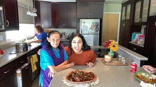 Comiendo con Abuela's kitchen.
