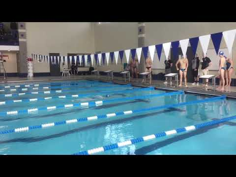 Lydia P - 100 Breast - Illinois College Dual Meet