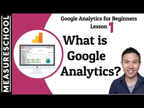 Quick Google Analytics Introduction [Lesson 1]