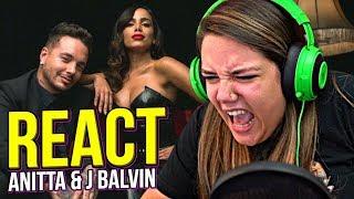 Baixar REAGINDO A ANITTA & J BALVIN - DOWNTOWN 🎤🎵
