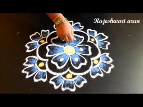 New year Rangoli Designs 2018 * Pongal Kolam Designs * Sankranthi