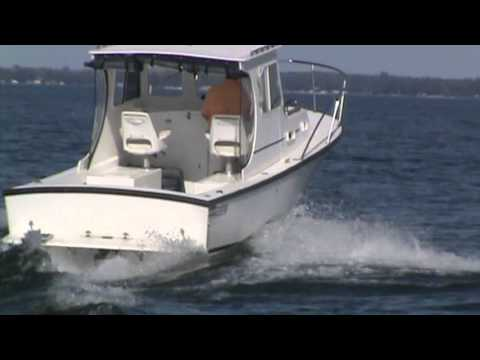2008 Eastern Boats 27 Lobster in Henderson, NY - YouTube
