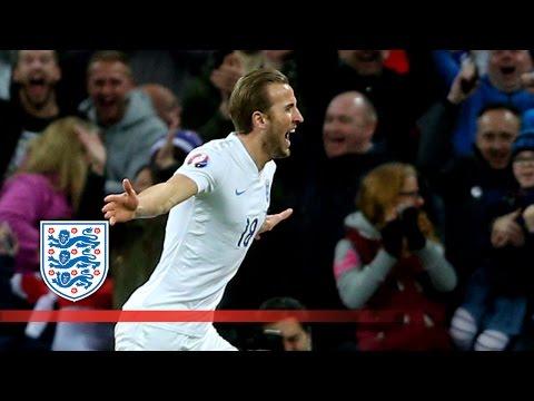 Harry Kane's debut goal for England | Goals & Highlights