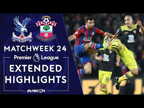 Crystal Palace v. Southampton | PREMIER LEAGUE HIGHLIGHTS | 1/21/2020 | NBC Sports