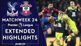 Crystal Palace v Southampton  PREMIER LEAGUE HIGHLIGHTS  1212020  NBC Sports