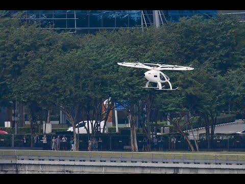 إطلاق أول نموذج لتاكسي طائر في سنغافورة  - نشر قبل 20 دقيقة