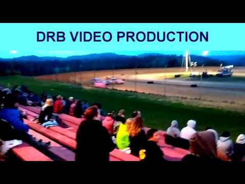 Marion Center Speedway 5/20/17 Steel Block Limited Late Model Heat 1 of 2