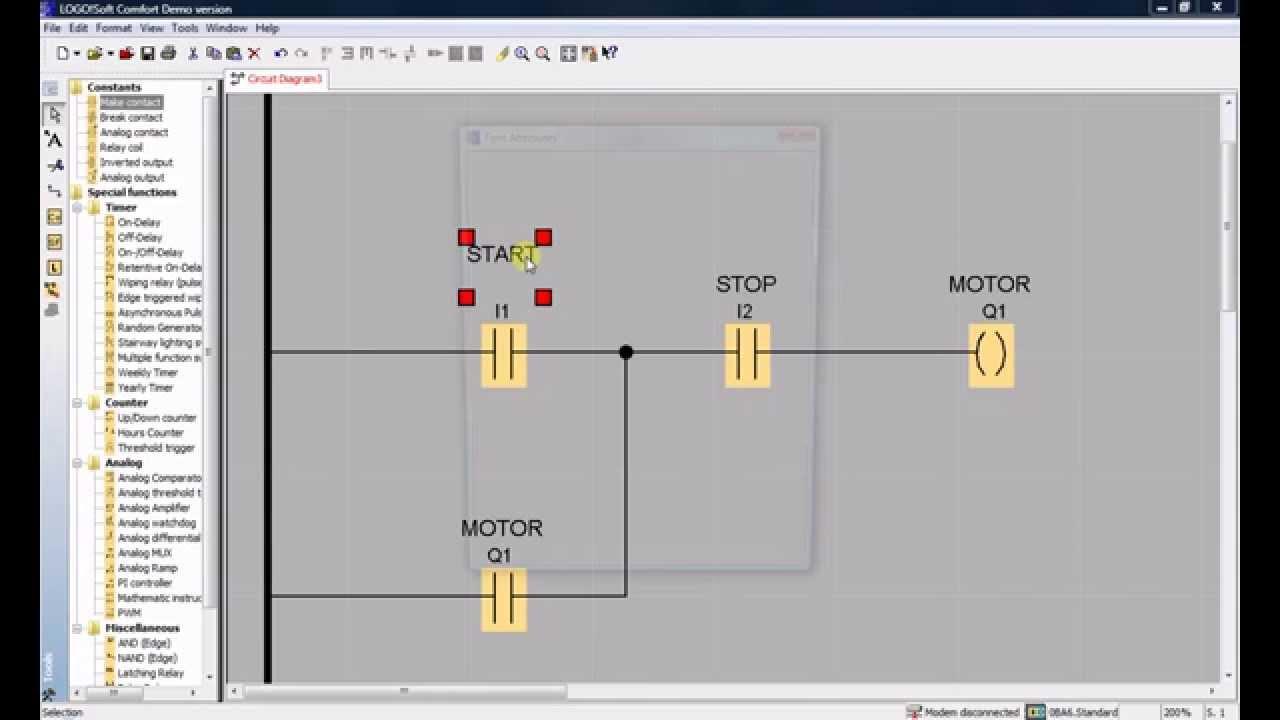 Stop Start Circuit