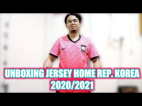 REVIEW JERSEY HOME REP. KOREA 2020/2021 (G.O)!!!    CHARMING JERSEY 🔥(eps:27)