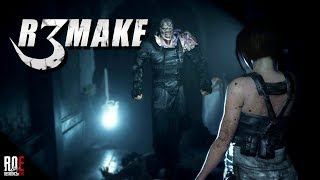 What RESIDENT EVIL 3: REMAKE Could Look Like (RE2 Mod)