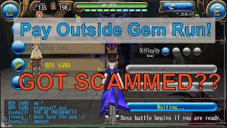 Toram Online Glory Gem Run Pay Outside.. I GOT SCAMMED!!!???