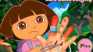NEW Игры для детей—Disney Принцесса Даша болит ручка—Мультик Онлайн Видео Игры для девочек