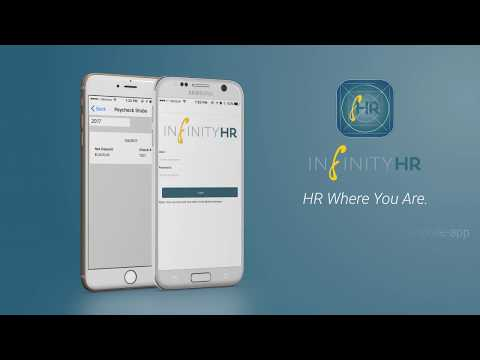 InfinityHR App, Human Resources App for Mobile Devices