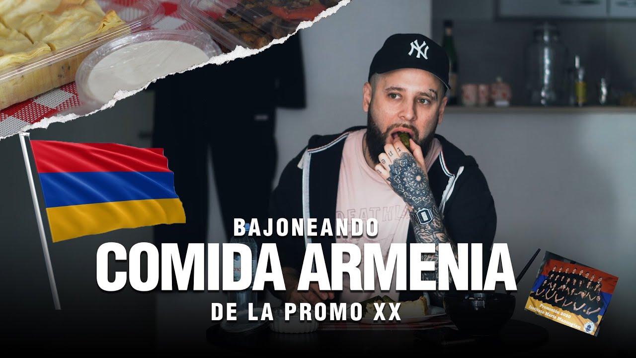 Bajoneando COMIDA ARMENIA de la PROMO 2020