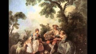"""Joseph Bodin de Boismortier - """"Sonata n.2 en Sol mineur"""" pour flûte & Clavecin op.91"""