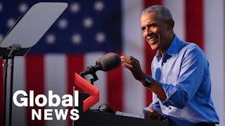 US election: Obama jokes that Trump's