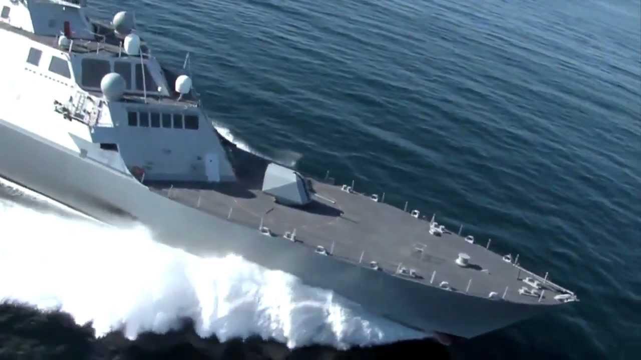 沿海域戦闘艦 LCS 1 フリーダム - YouTube