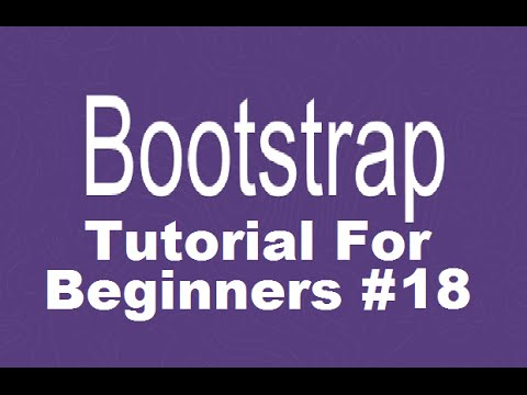 Bootstrap Tutorial For Beginners 18 - Bootstrap Modal (dialog Box Or Popup Window)