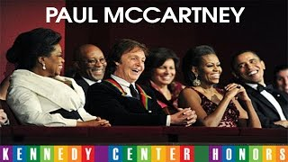 PAUL McCARTNEY AT KENNEDY CENTER HONORS (Complete) Resimi