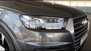 Audi Q7 S-line quattro 3.0 TDI V6 2018 quick walkaround in 4K