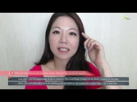 Cosmetic and Plastic Surgery Real Review | Audery Lim | Mrs Singapore Globe 2014