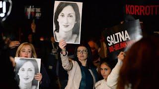 Geschäftsmann wegen Mord an Journalistin in Malta festgenommen