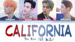 Gambar cover The Rose (더 로즈) – 'California' (Color Coded Lyrics Eng/가사)