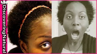 World Afro Day | Short Natural Hair Afro Hairstyle