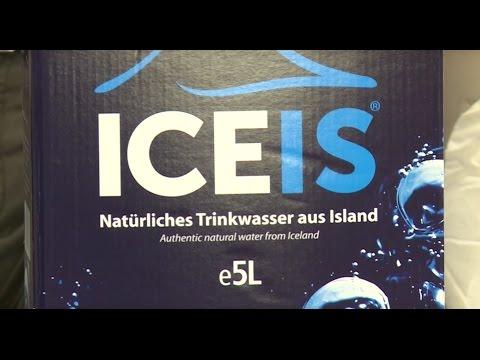 Natürlich basisches ICEIS, das Original Gletscher-Wasser aus Island