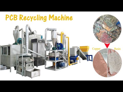 PCB/Printed Circuit Boards Recycling Line