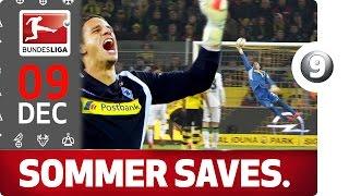 Yann Sommer - Top 5 Saves - Bundesliga 2016 Advent Calendar 9