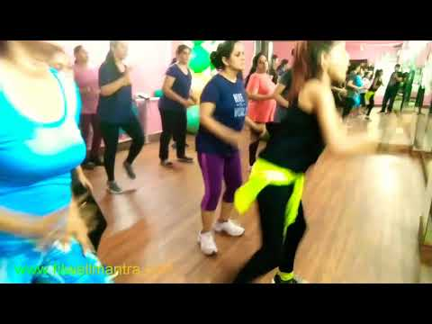 Some powermoves steps advance Aerobics weight loss compliet fitness workout choreo Hansika