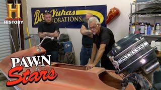 Pawn Stars: A 1969 PWC Hydro-Cycle Barracuda Needs a Lot of Work (Season 13) | History
