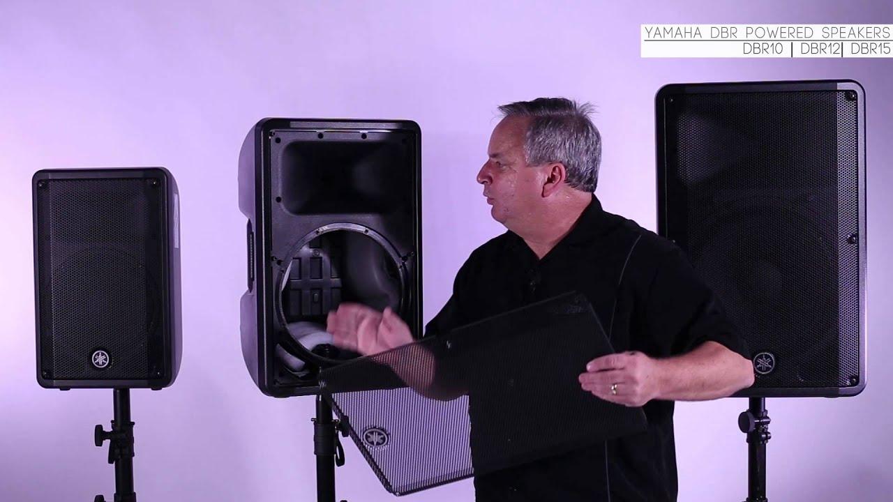 Deconstructing Yamaha's DBR Speakers