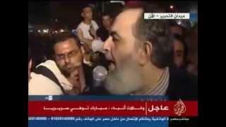 أبو اسماعيل يلقي كلمة نارية يشعل بها ميدان التحرير 20-6