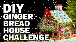 vermillionvocalists.com - DIY Gingerbread Challenge!!! - Man Vs Corinne Vs Pin