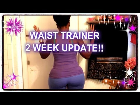 36d646416a2 WAIST TRAINER   2 WEEK UPDATE !!!..YEESSS HONEY  -) - YouTube